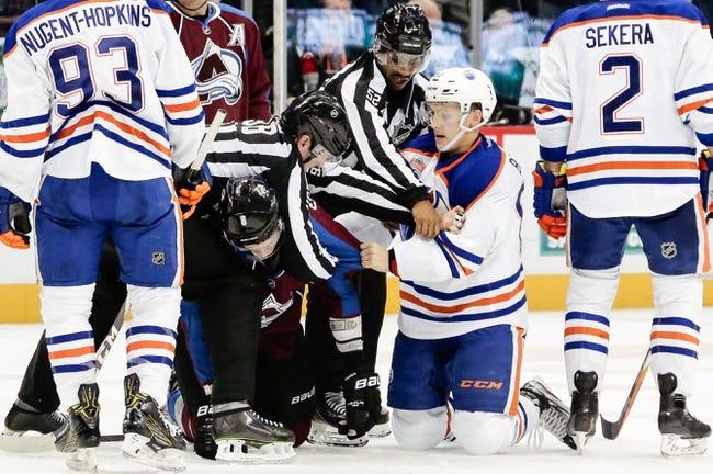 Oilers erupt for five goals in third period