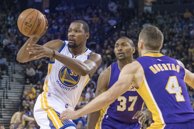 Los Angeles Lakers vs. Golden State Warriors - 11/25/16 NBA Pick, Odds, and Prediction