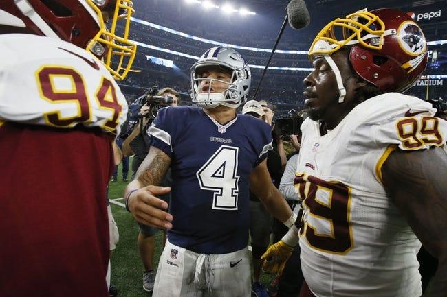 Washington Redskins vs. Dallas Cowboys - 10/29/17 NFL Pick, Odds, and Prediction