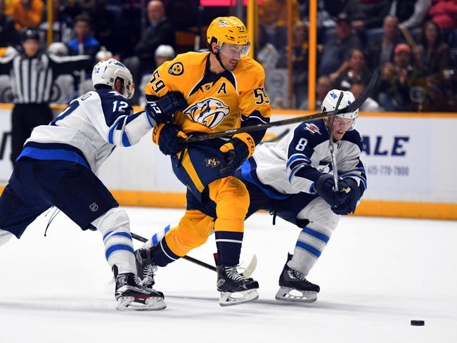 Winnipeg Jets vs. Nashville Predators - 11/27/16 NHL Pick, Odds, and Prediction