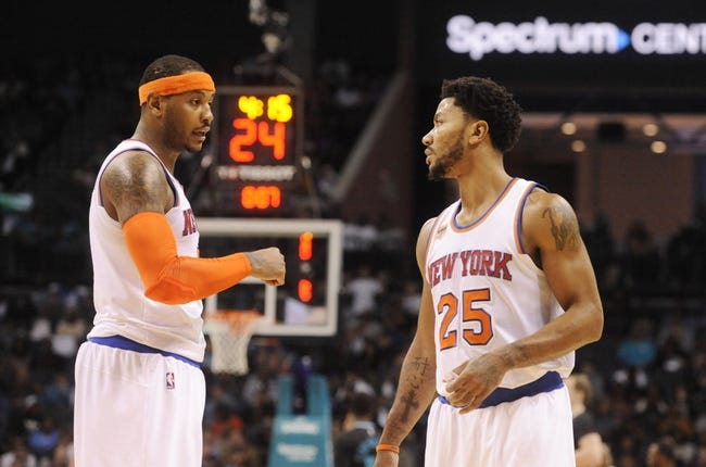 New York Knicks vs. Oklahoma City Thunder - 11/28/16 NBA Pick, Odds, and Prediction
