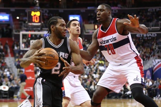 San Antonio Spurs vs. Washington Wizards - 12/2/16 NBA Pick, Odds, and Prediction