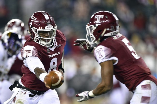 Navy vs. Temple - 12/3/16 College Football Pick, Odds, and Prediction