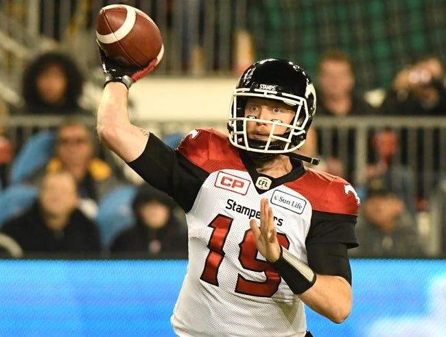 Calgary Stampeders vs. Ottawa Redblacks CFL Pick, Odds, Prediction - 6/28/18