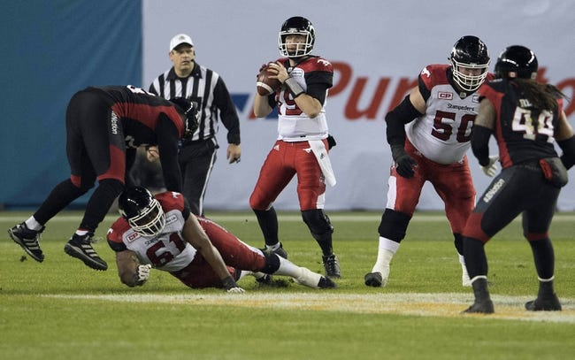 Montreal Alouettes vs. Calgary Stampeders CFL Pick, Odds, Prediction - 9/29/17