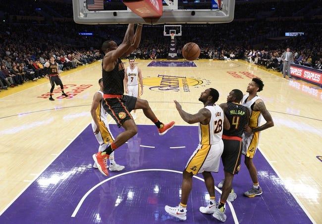 Los Angeles Lakers vs. Atlanta Hawks - 1/7/18 NBA Pick, Odds, and Prediction