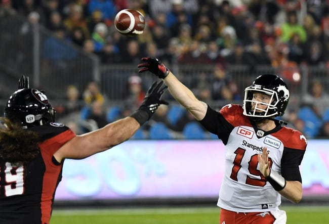 BC Lions vs. Calgary Stampeders CFL Pick, Odds, Prediction - 9/16/17