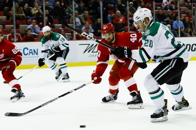 Dallas Stars vs. Detroit Red Wings - 1/12/17 NHL Pick, Odds, and Prediction