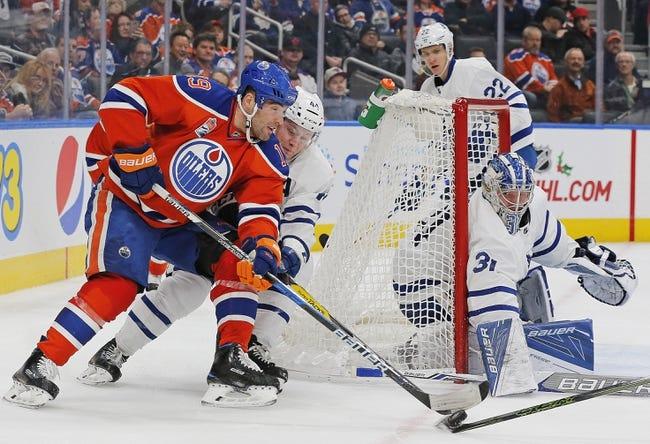 Edmonton Oilers vs. Toronto Maple Leafs - 11/30/17 NHL Pick, Odds, and Prediction