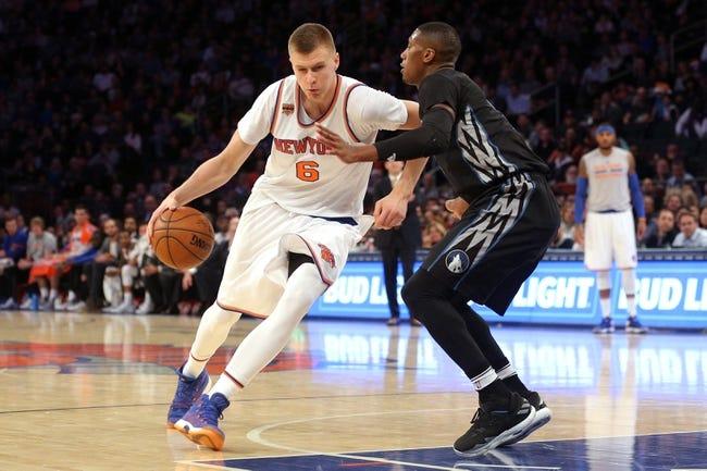 Minnesota Timberwolves vs. New York Knicks - 1/12/18 NBA Pick, Odds, and Prediction