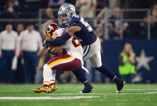 Dallas Cowboys at Washington Redskins - 10/29/17 NFL Pick, Odds, and Prediction
