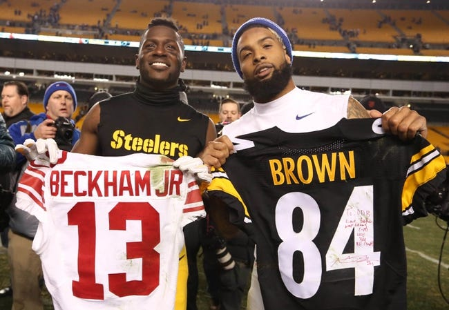 Pittsburgh Steelers at New York Giants - 8/11/17 NFL Pick, Odds, and Prediction