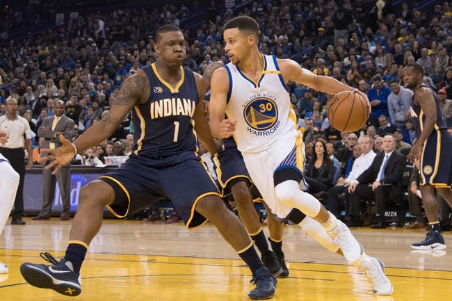 Golden State Warriors vs. Indiana Pacers - 3/27/18 NBA Pick, Odds, and Prediction