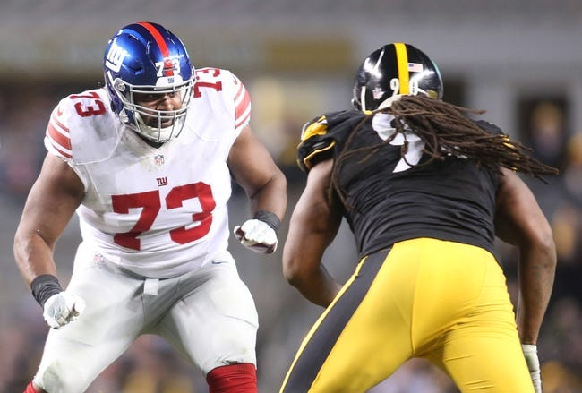 New York Giants vs. Pittsburgh Steelers - 8/11/17 NFL Pick, Odds, and Prediction