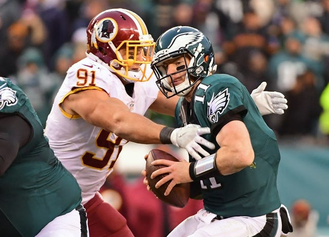 Washington Redskins vs. Philadelphia Eagles - 9/10/17 NFL Pick, Odds, and Prediction