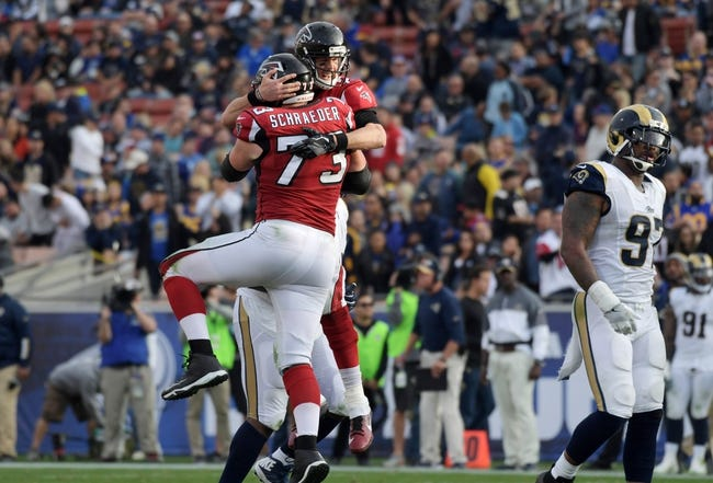 Atlanta Falcons at Los Angeles Rams - 1/6/18 NFL Pick, Odds, and Prediction