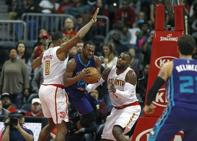 Charlotte Hornets take care of shorthanded Atlanta Hawks, 105-90