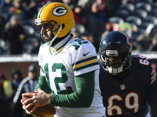 Chicago Bears at Green Bay Packers - 9/28/17 NFL Pick, Odds, and Prediction
