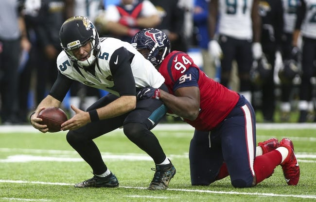 Houston Texans vs. Jacksonville Jaguars - 9/10/17 NFL Pick, Odds, and Prediction
