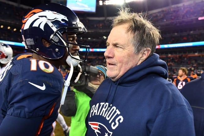 Denver Broncos vs. New England Patriots - 11/12/17 NFL Pick, Odds, and Prediction