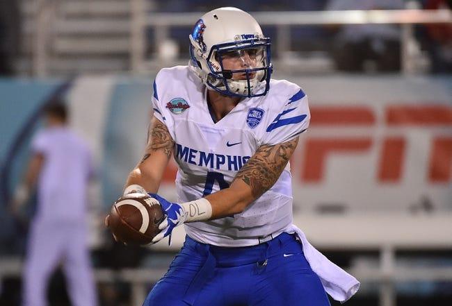 Memphis vs. Louisiana-Monroe - 8/31/17 College Football Pick, Odds, and Prediction