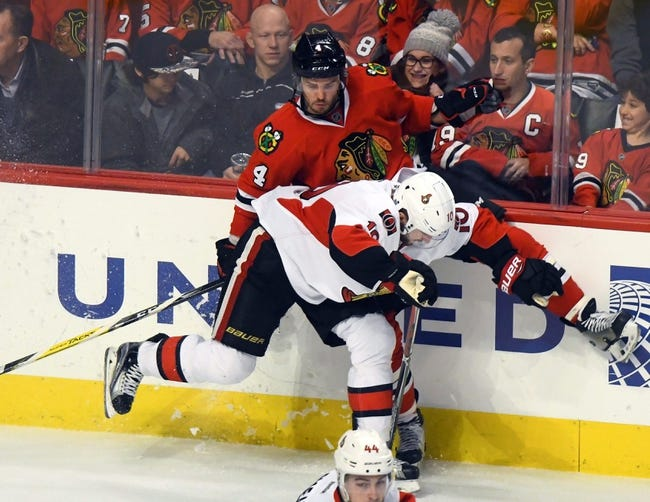 Blackhawks make their own luck in win over Wild
