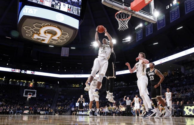Wofford vs. Georgia Tech - 12/6/17 College Basketball Pick, Odds, and Prediction