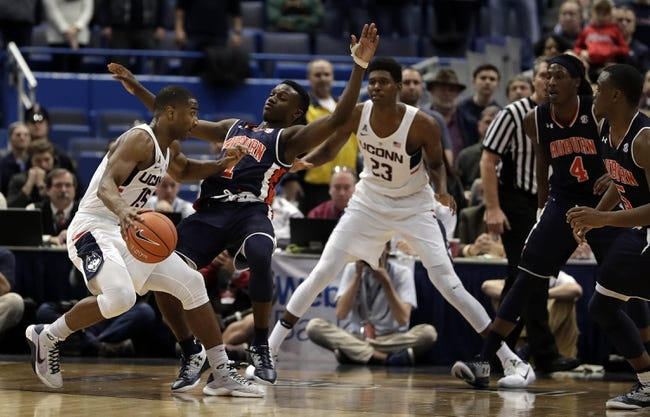 Auburn vs. Connecticut - 12/23/17 College Basketball Pick, Odds, and Prediction