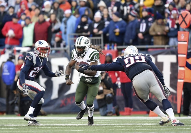 New England Patriots at New York Jets - 10/15/17 NFL Pick, Odds, and Prediction