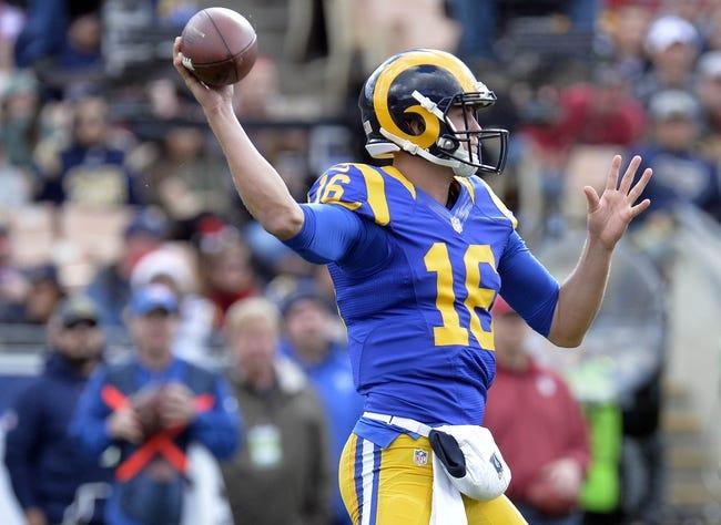 NFL | Arizona Cardinals (6-8-1) at Los Angeles Rams (4-11)