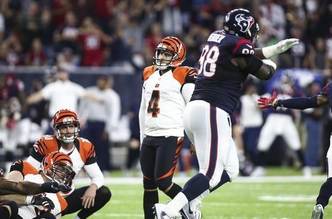 Cincinnati Bengals vs. Houston Texans - 9/14/17 NFL Pick, Odds, and Prediction