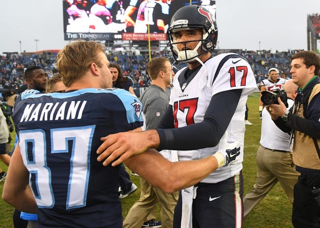 Tennessee Titans at Houston Texans - 10/1/17 NFL Pick, Odds, and Prediction