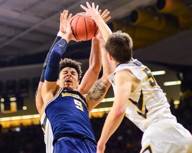 Iowa vs. Michigan - 1/2/18 College Basketball Pick, Odds, and Prediction