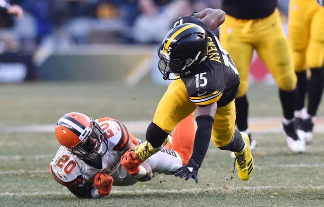 Cleveland Browns vs. Pittsburgh Steelers - 9/10/17 NFL Pick, Odds, and Prediction