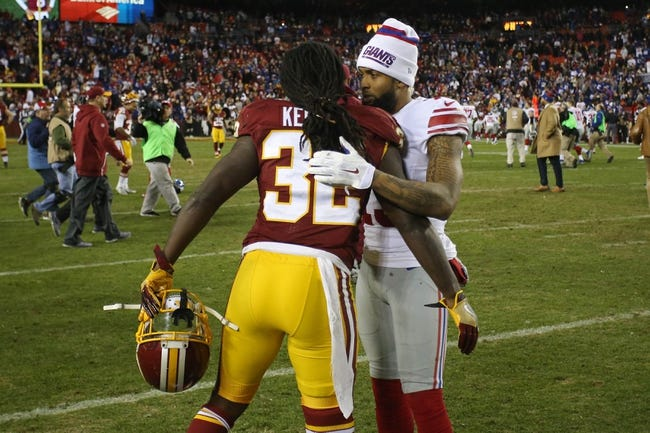 New York Giants at Washington Redskins - 11/23/17 NFL Pick, Odds, and Prediction