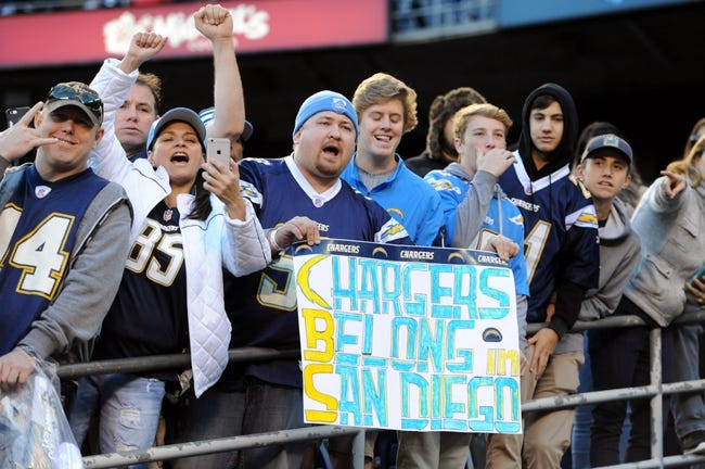 Los Angeles Chargers vs. Kansas City Chiefs - 9/24/17 NFL Pick, Odds, and Prediction