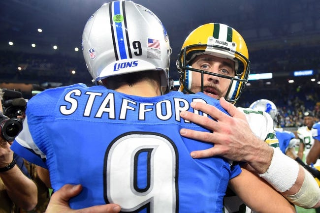 Green Bay Pacers at Detroit Lions - 10/7/18 NFL Pick, Odds, and Prediction