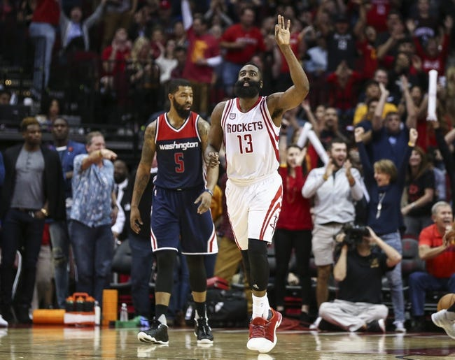 Washington Wizards vs. Houston Rockets - 12/29/17 NBA Pick, Odds, and Prediction