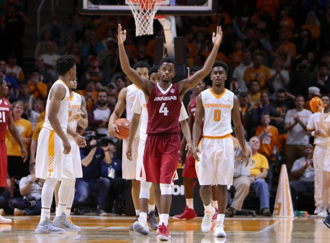 Arkansas vs. Tennessee - 12/30/17 College Basketball Pick, Odds, and Prediction