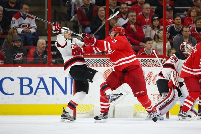 New Jersey Devils vs. Carolina Hurricanes - 2/15/18 NHL Pick, Odds, and Prediction