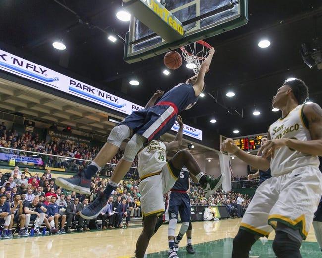 NCAA BB | Saint Mary's-California Gaels (9-6) at San Francisco Dons (12-2)