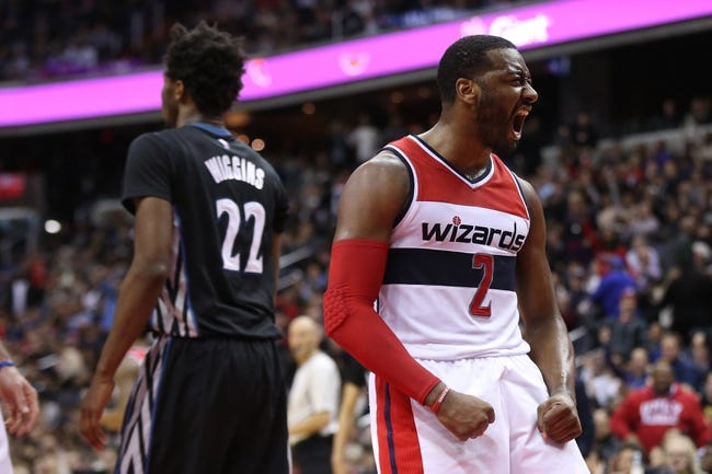 Towns, Rubio lead Wolves over Wizards, 119-104