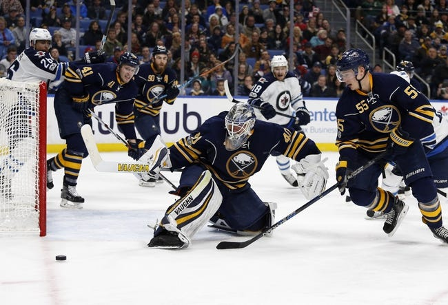 Winnipeg Jets vs. Buffalo Sabres - 1/5/18 NHL Pick, Odds, and Prediction