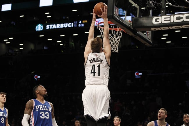 Saric, Covington lift 76ers over Nets 106-101