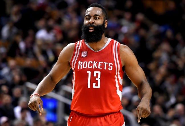 Houston Rockets vs. Toronto Raptors - 11/14/17 NBA Pick, Odds, and Prediction