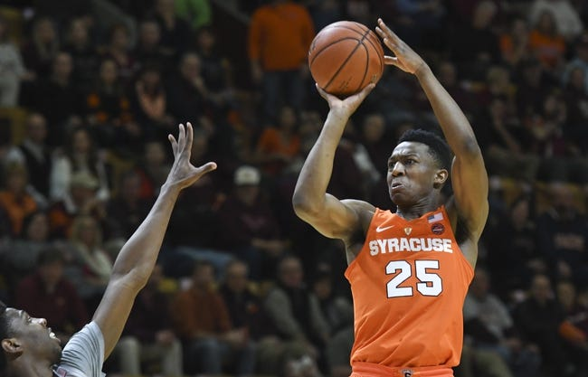 Syracuse vs. Virginia Tech - 12/31/17 College Basketball Pick, Odds, and Prediction