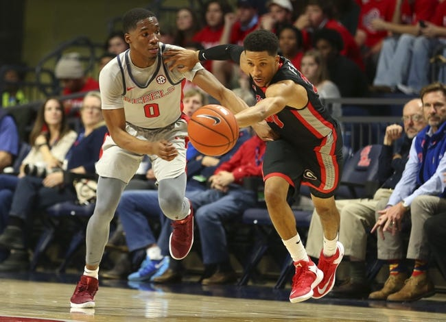 NCAA BB | Mississippi Rebels (8-5) at Georgia Bulldogs (9-3)