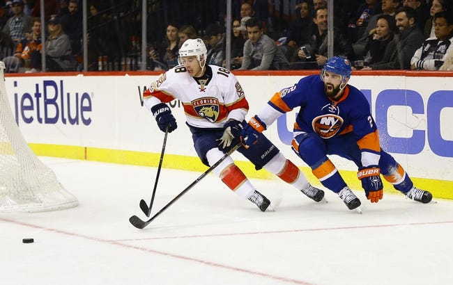 Florida Panthers vs. New York Islanders - 12/4/17 NHL Pick, Odds, and Prediction