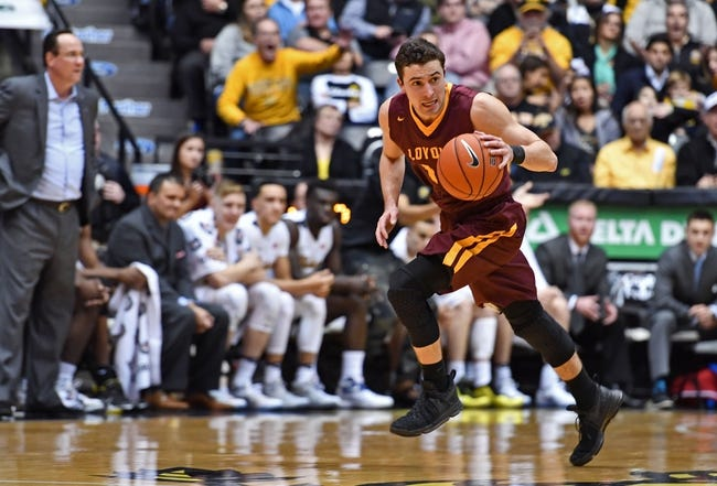Loyola-Chicago vs. Bradley - 1/13/18 College Basketball Pick, Odds, and Prediction