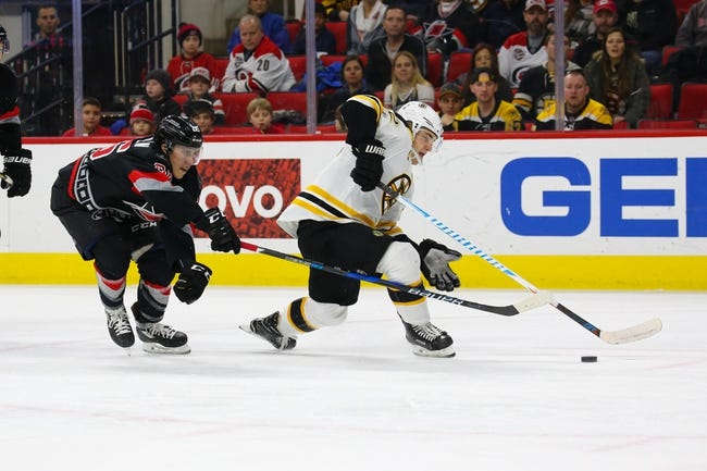 Boston Bruins vs. Carolina Hurricanes - 1/6/18 NHL Pick, Odds, and Prediction